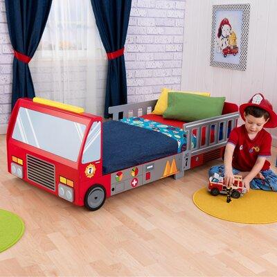 Firefighter Toddler Car Bed