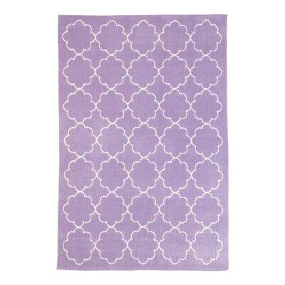 Lavender Poppy Area Rug Rug Size: 4 x 6