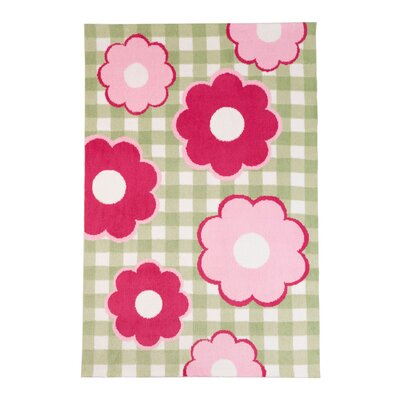Cottage Flowers Area Rug Rug Size: 4 x 6