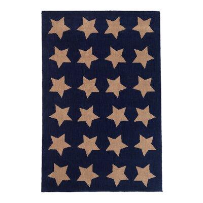 Multi Star Khaki Area Rug Rug Size: 4 x 6