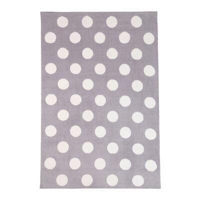 Gray Area Rug Rug Size: 4 x 6