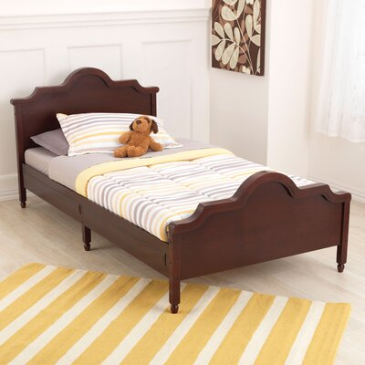 Raleigh Twin Panel Bed Color: Espresso