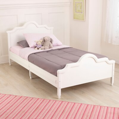 Raleigh Twin Panel Bed Finish: White