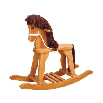 Derby Rocking Horse in Honey