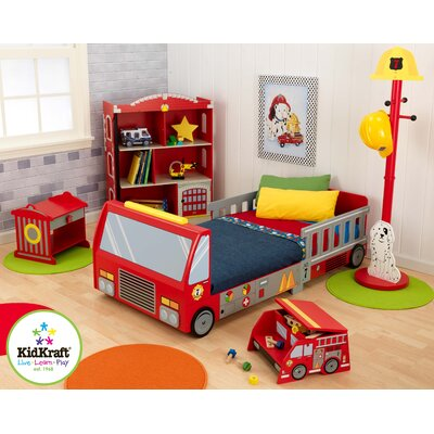 Fire Truck Toddler Bed