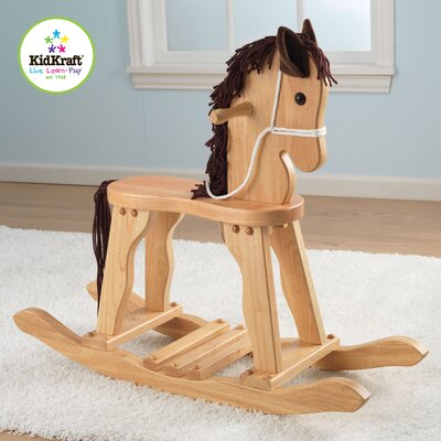Derby Rocking Horse in Natural