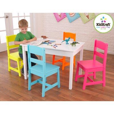 KidKraft Highlighter Kids 5 Piece Table and Chair Set  sc 1 st  cool baby and kids stuff & KIDKRAFT PRODUCTS - COOL BABY AND KIDS STUFF