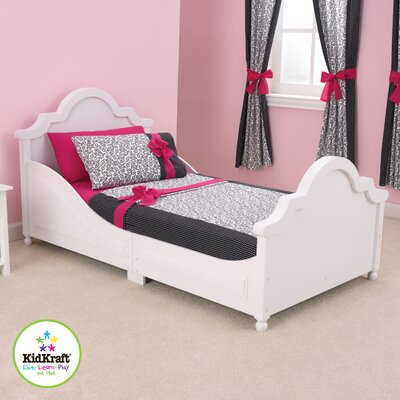 Raleigh Toddler Sleigh Bed Finish: White