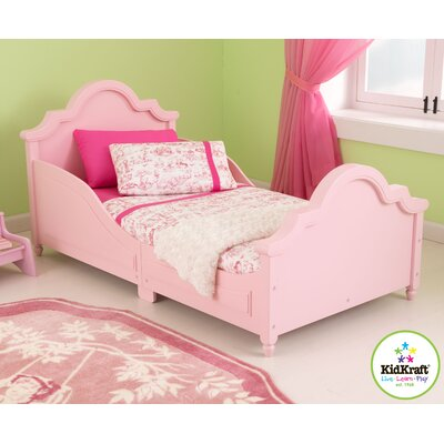 Raleigh Toddler Sleigh Bed Finish: Pink