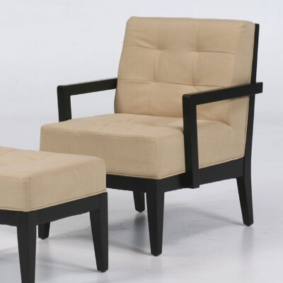 Armen Living Dupont Micro Fiber Arm Chair - Sofa and Chair Shop