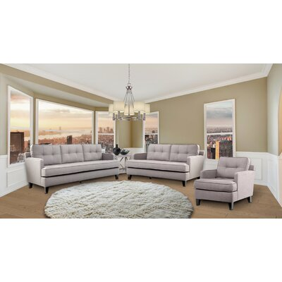 Eden Sofa Upholstery: Cement Gray