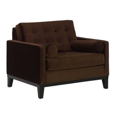 Centennial Arm Chair Upholstery: Brown