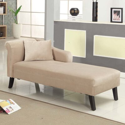 Furniture-Patterson Chaise Lounge Upholstery Taupe