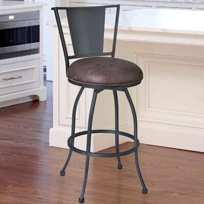 Dynasty 26 Swivel Bar Stool with Cushion