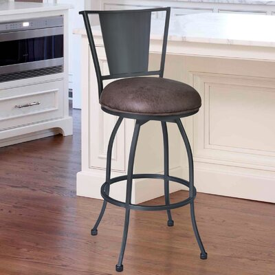 Dynasty 30 Swivel Bar Stool with Cushion