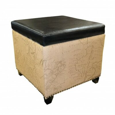 Ottoman Upholstery: Black LC5007OTWR