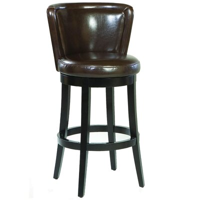 Wapping 30 Swivel Bar Stool with Cushion