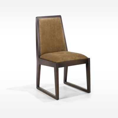 Armen Living Obliq Side Chair in Tobacco (Set of 2) Best Price