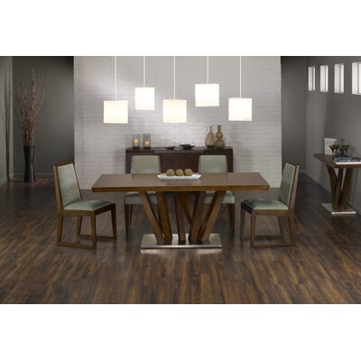 Armen Living Obliq 5 Piece Rectangular Dining Table Set Best Price