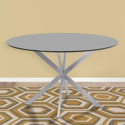 Hale Round Dining Table Top Finish: Gray