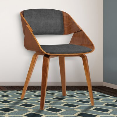 Essex Mid-Century Arm Chair Upholstery: Charcoal