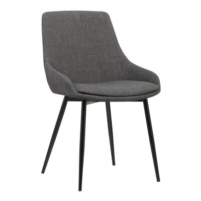 Kierra Contemporary Arm Chair Upholstery: Charcoal