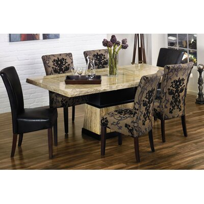 Armen Living Bermuda Rectangular Dining Table Best Price
