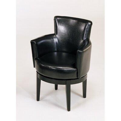 Armen Living Swivel Leather Club Chair - Sofa and Chair Shop