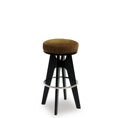 Credit for Lexa Lagoon Metal Footrest Barstool...