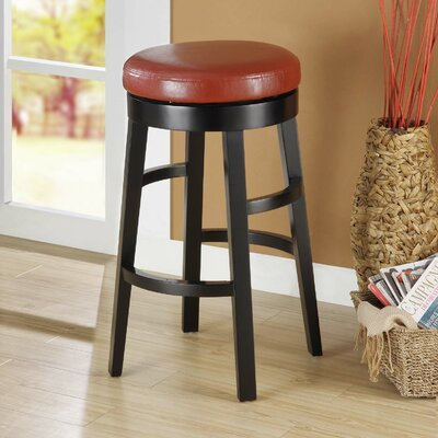 Easy financing Halo Swivel Barstool Upholstery: Bi...