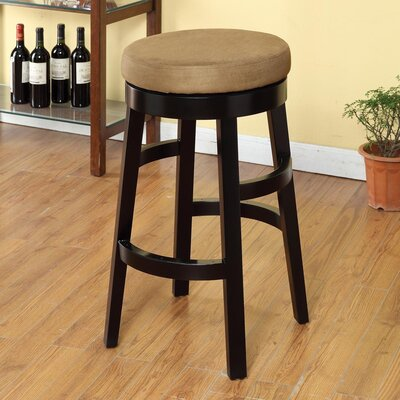 Lease to own Halo Swivel Barstool Seat Height: C...