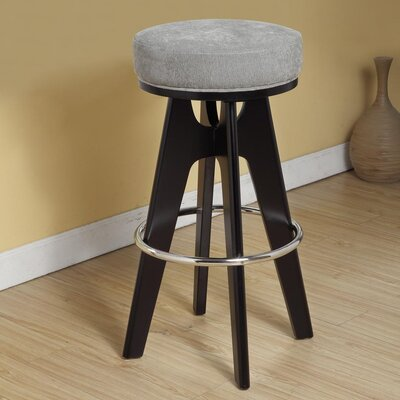 Rent to own Lexa Lagoon Metal Footrest Barstool...