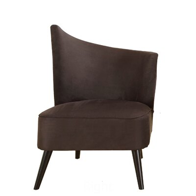 Stage Door Side Chair Color: Black