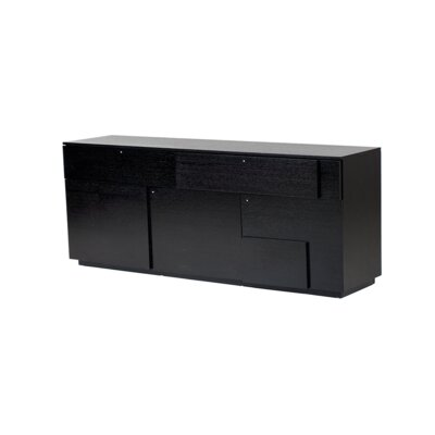 Centrix Sideboard Color: Black Oak