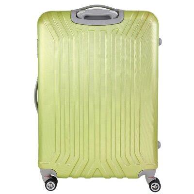 INUSA Miami 3 Piece Luggage Set - Color: Green