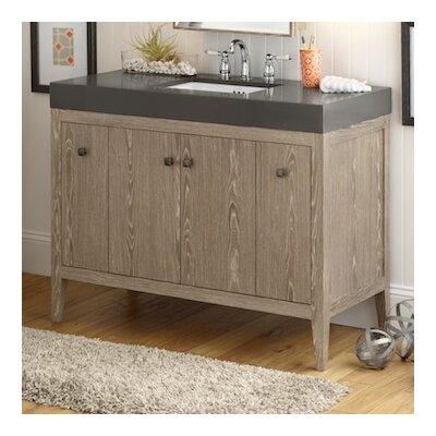Sophie 48 Bathroom Vanity Cabinet Base in Aged Oak