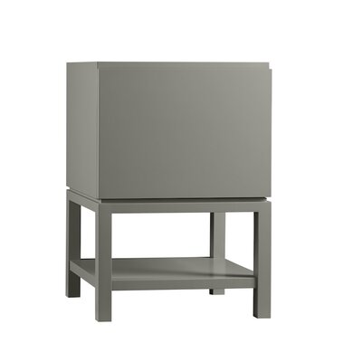 Jenna 23 Bathroom Vanity Base Cabinet in Slate Gray