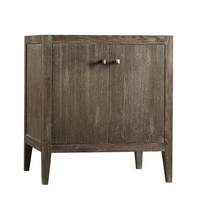 Neo-Classic Sophie Wood Cabinet Vintage Caf� Vanity Base