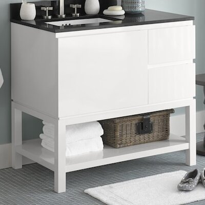 Chloe 36 Single Bathroom Vanity Base Base Finish: Blush Taupe