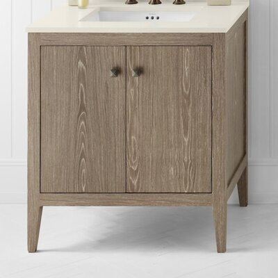 Neo-Classic Sophie Wood Cabinet Vintage Honey Vanity Base