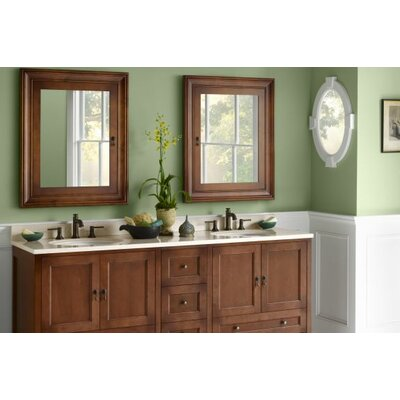 Milano 73 Double Bathroom Vanity Set with Mirror