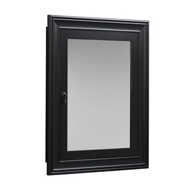Transitional 27.25 x 34 Recessed or Surface Mount Medicine Cabinet