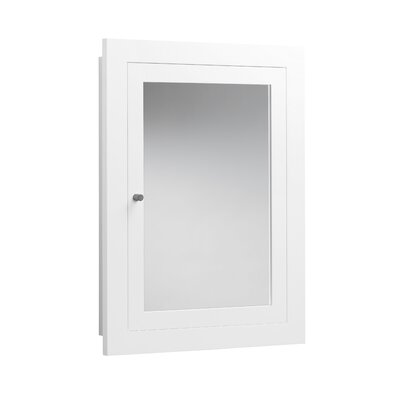 Frederick 24.44 x 32.44 Recessed or Surface Mount Medicine Cabinet