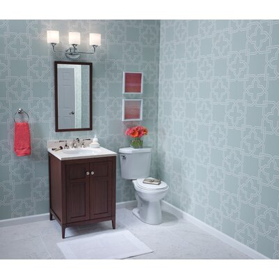 Briella 24 Single Bathroom Vanity Base Finish: American Walnut