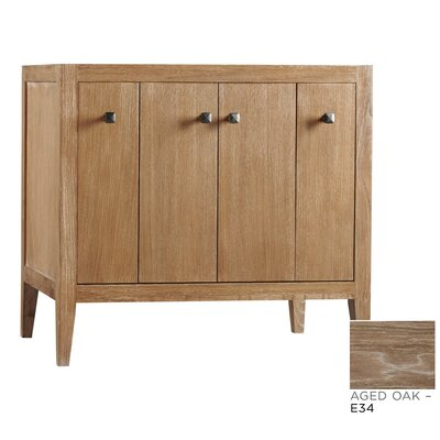 Sophie 36 Single Bathroom Vanity Base Base Finish: Aged Oak