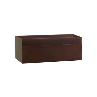 Rebecca 36 Single Bathroom Vanity Base Base Finish: Dark Cherry