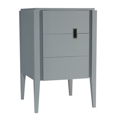 Zoe 24 Bathroom Vanity Base in Slate Gray