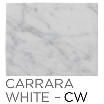 Marcello 49 Single Bathroom Vanity Top Finish: Carrara White
