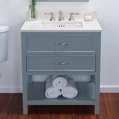 "Newcastle 30"" Bathroom Vanity Cabinet Base Finish: Ocean Gray"