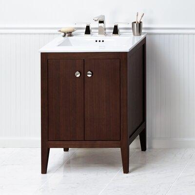 Sophie 24 Bathroom Vanity Cabinet Base in American Walnut